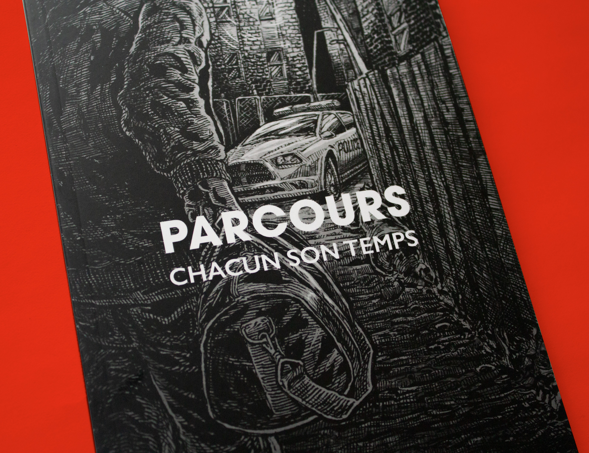 Close-up of the cover of Parcous: Chacun son temps.