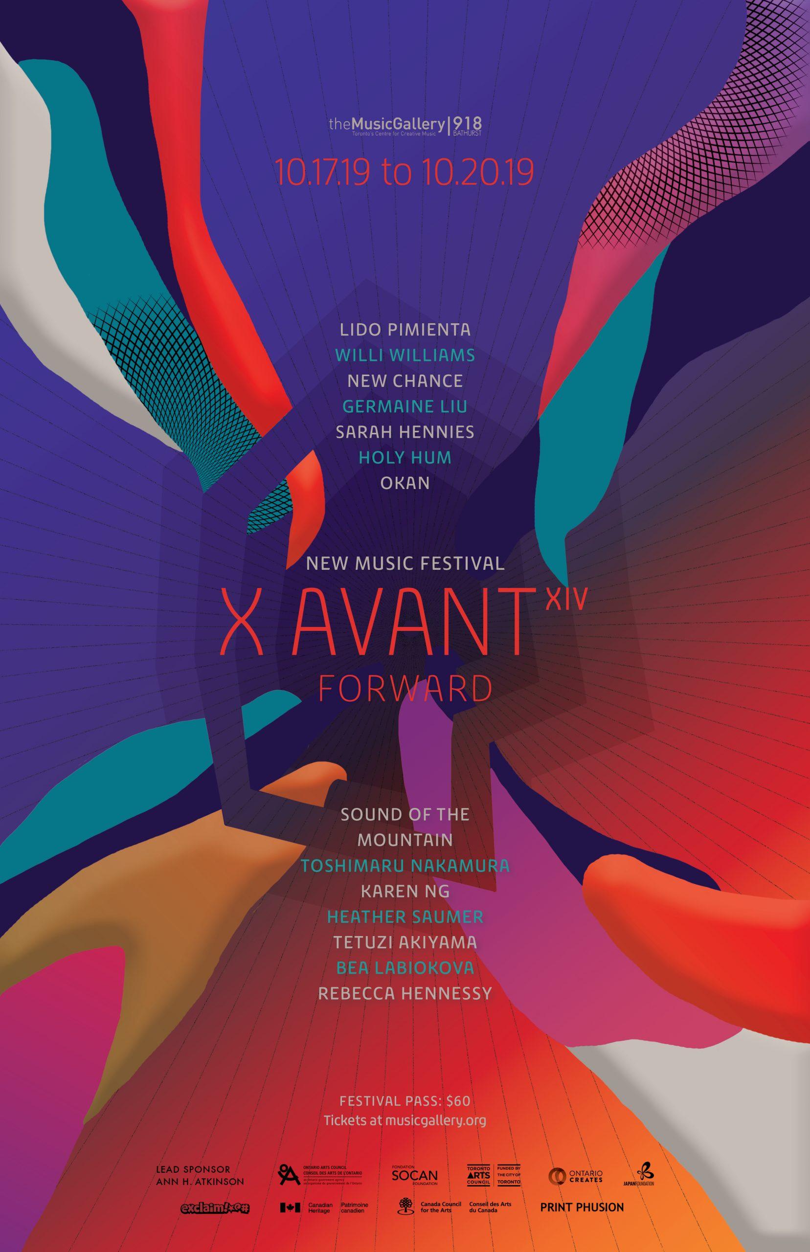 X Avant Poster